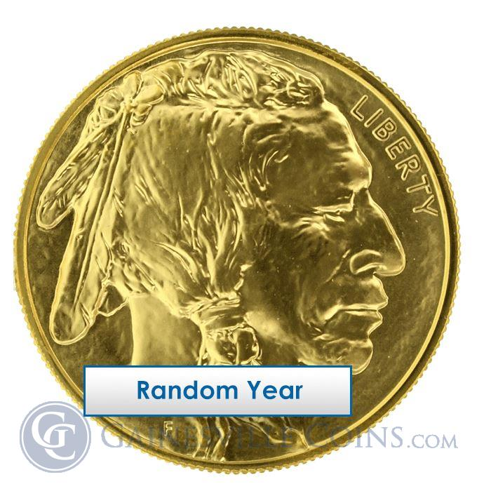 Image Showcase for 1 oz Gold Buffalo in Mint Sheet - Random Year