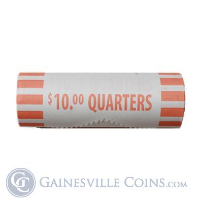"90% Silver Coins ""Solid Bank Roll"" of Quarters -$10 Face Value"