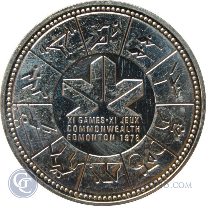 One Dollar 1974 Commonwealth Games, Coin from New Zealand ...