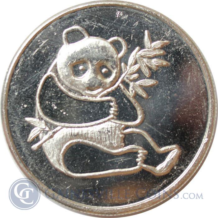Image Showcase for 1 oz Silver International Trade Unit - Panda (.999)