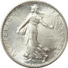 1898-1920 France 1 Francs Silver Coin - Random Date (ASW .1342)