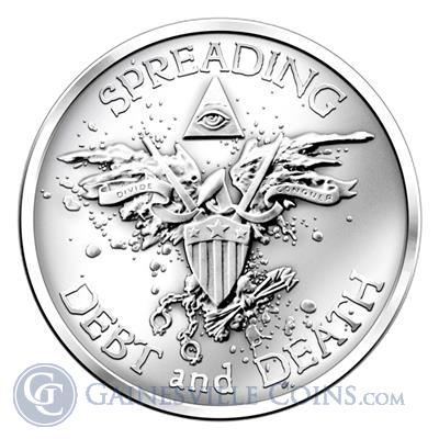 Warbird 1 oz Silver Round | Silver Bullet Silver Shield (.999 Pure)