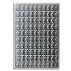 100 X 1 Gram Cook Islands Divisible Silver Valcambi CombiCoin - (3.215 oz of Silver) With Assay Card