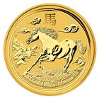 2014 1/20 oz Australian Gold Lunar Year of the Horse (Series II)