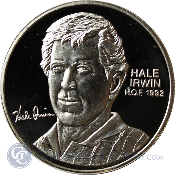 Image Showcase for Hale Irwin PGA Hall of Fame 1 oz Silver Art Round (.999 Pure)