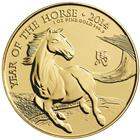 2014 British Royal Mint 1 oz Lunar Horse Gold Coin – 1st in New Series