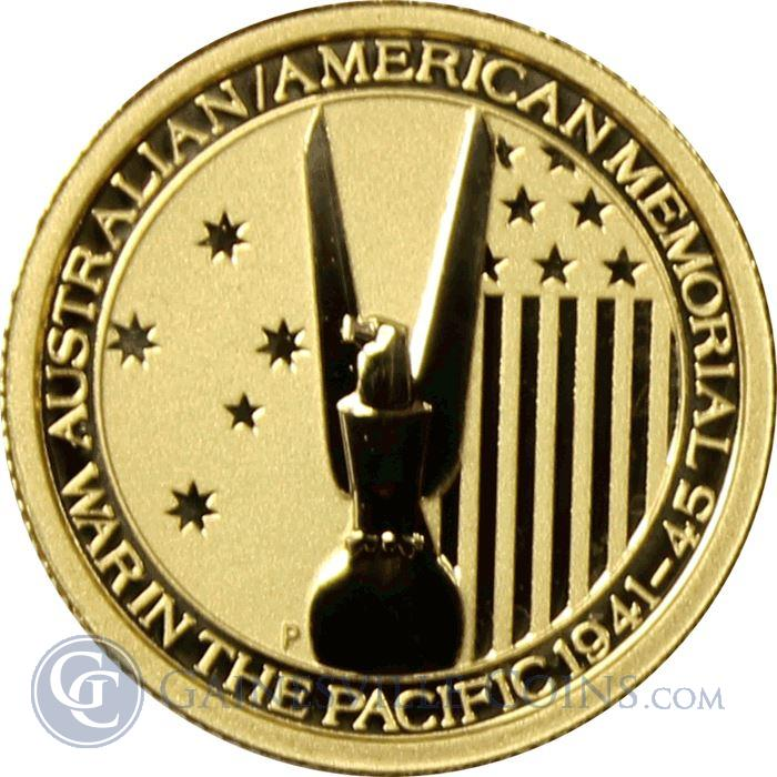 Image Showcase for 2013 Australia 1/10 oz Gold War In The Pacific