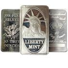 10 oz Silver Bar - Random Design (.999 Pure)