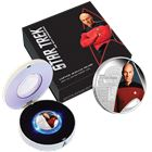 2015 Star Trek Captain Jean Luc Picard 1 oz Proof Silver Coin Australia Perth Mint