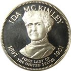 Ida McKinley Proof Sterling Silver Round - First Lady Series (.98 oz of Silver)