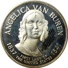 Angelica Van Buren Proof Sterling Silver Round - First Lady Series (.98 oz of Silver)