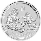 2016 Perth Mint 1 oz Silver Year of The Monkey (300,000 mintage)