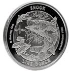 2016 Guy Harvey© Proof Silver Round 1 oz - Snook Line Dance (Mintage of Only 1,500!)