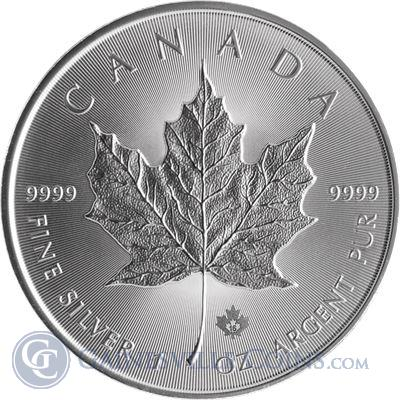 2016 1 oz Canadian Silver Maple Leaf - Brilliant Uncirculated
