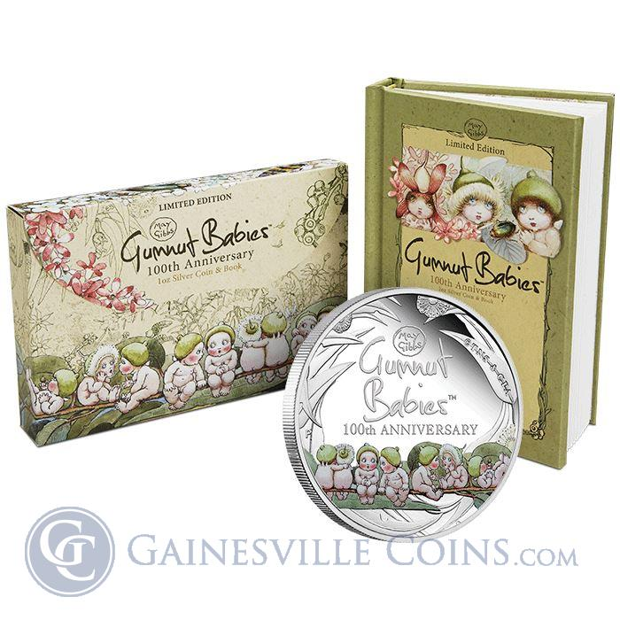 Image Showcase for 2016 Gumnut Babies 1 oz Proof Silver Coin - 100th Anniversary