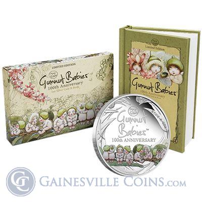 2016 Gumnut Babies 1 oz Proof Silver Coin - 100th Anniversary