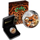 2016 Tiger Cubs 1/2 oz Silver Proof Coin - With Box and COA