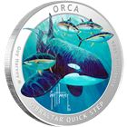 2016 Guy Harvey© Colorized 1 oz Proof Silver Round - Orca (Mintage of Only 1,500!)