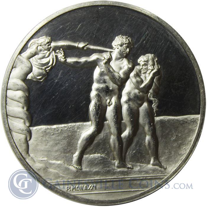 Image Showcase for The Expulsion Proof Sterling Silver Round (1.16 oz ASW)