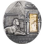 2015 Egypt Imperial Art Citrine Crystal 2 oz Silver - Niue