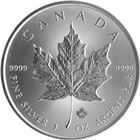 2017 Canadian Silver Maple Leaf - Brilliant Uncirculated