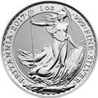 2017 1 oz Silver Britannia - British Royal Mint (Uncirculated)