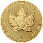 2017 1/10 oz Canadian Gold Maple Leaf Bullion Coin