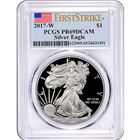 2017-W American Proof Silver Eagle PCGS PR69 DCAM First Strike