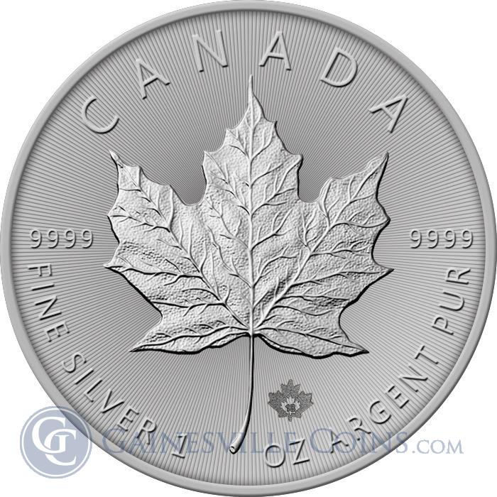 Image Showcase for 2018 Canadian Silver Maple Leaf - Brilliant Uncirculated