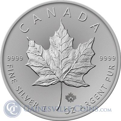 2018 Canadian Silver Maple Leaf Gainesville Coins