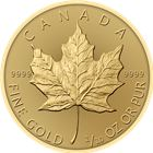 2018 1/10 oz Canadian Gold Maple Leaf Bullion Coin - BU