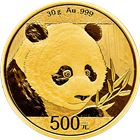 2018 Chinese Gold Panda 30 Grams (Sealed In Original Mint Plastic)