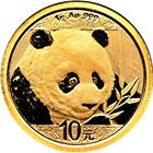 2018 1 Gram Chinese Gold Panda Coin (Sealed In Original Mint Plastic)