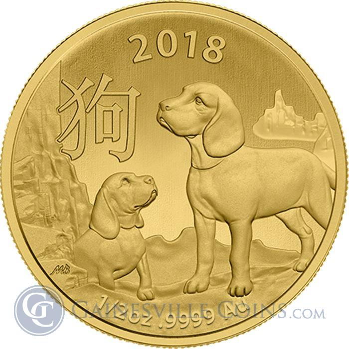 Image Showcase for 2018 1/2 oz Lunar Gold Dog - Royal Australian Mint