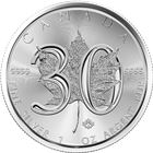 2018 Canada 30th Anniversary 1 oz Silver Maple Leaf (BU)