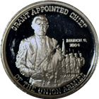 Grant Appointed Chief Of The Union Armies Proof Silver Round (.83 oz ASW) .999 Pure