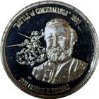Battle Of Chickamauga Proof Silver Round (.82 oz ASW) .999 Pure