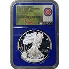 2016-W American Proof Silver Eagle NGC PF70 - Chicago Cubs