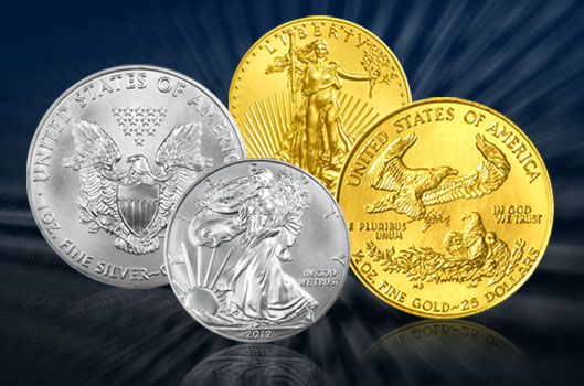 American Gold and Silver Eagles