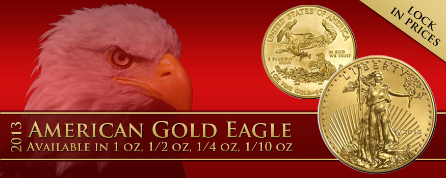 Preorder 2013 American Gold Eagle