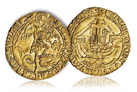 Bosworth Field Richard II gold coin