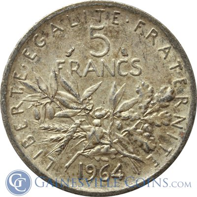 French-5-Francs-1960-69