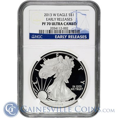 2013-w-proof-silver-eagle-MS70-ultra-cameo