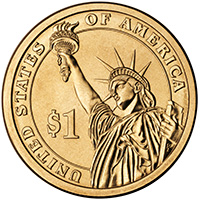 Presidential Dollar Coin Common Reverse