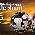 2014 Somali Silver Elephants in Stock At Gainesville Coins!