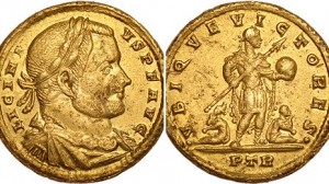 Licinius-I-gold-coin-minted-Trier-313AD