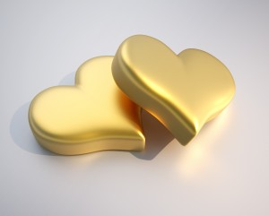 Market makes gold its sweetheart for Valentine's Day