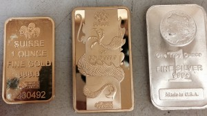 fake PAMP Suisse gold bars