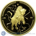 The Legendary Great White Buffalo - Immortalized in Gold!