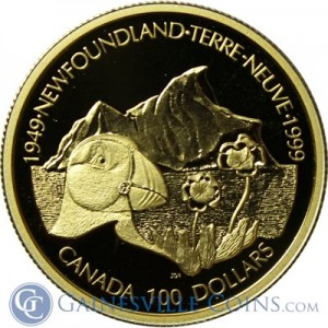 2000-Canada-$100-Newfoundland-Unity-proof-gold-coin